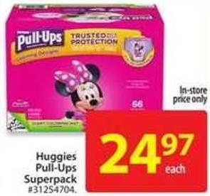 Huggies Pull-Ups Superpack