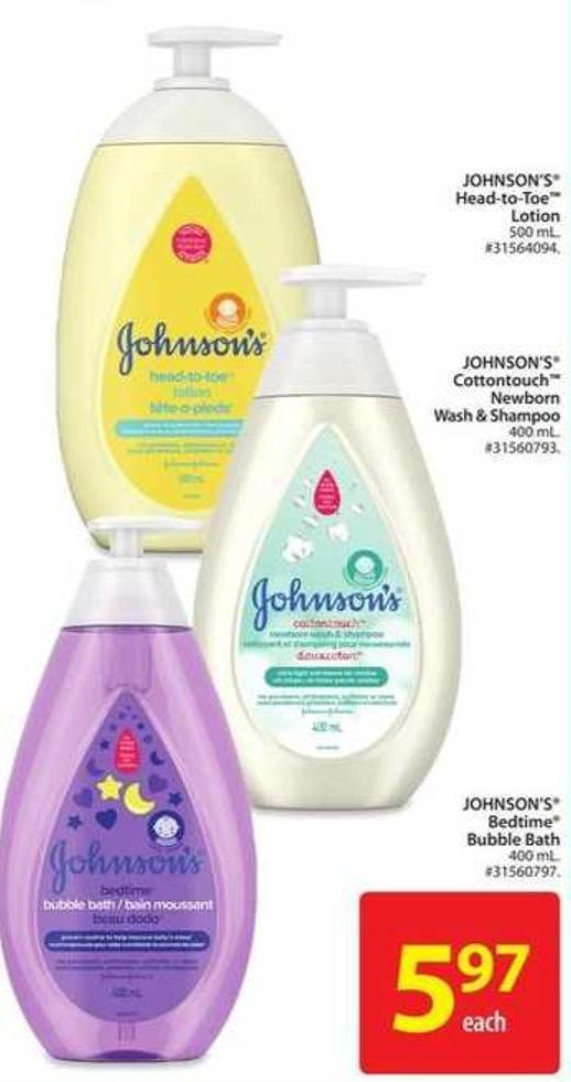 Johnson's Head-to-toe Lotion