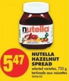 Nutella Hazelnut Spread - 725 g
