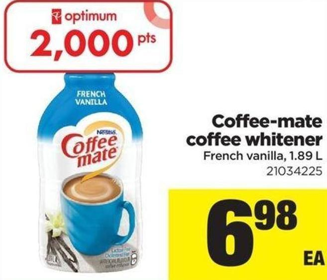 Coffee-mate Coffee Whitener - 1.89 L