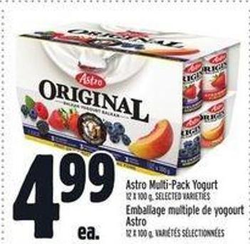 Astro Multi?pack Yogurt