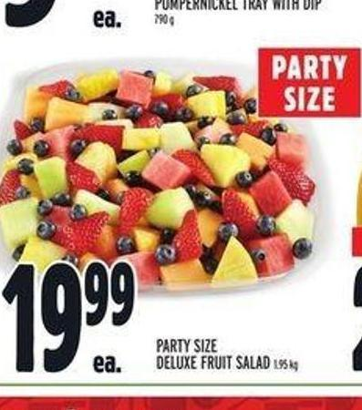 Party Size Deluxe Fruit Salad