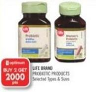 Life Brand Probiotic Products