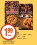 PC The Decadent Cookies 280g - 300g