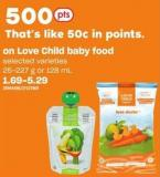 Love Child Baby Food - 25-227 G Or 128 Ml