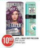 Göt2b or Magic Root Precision Hair Colour