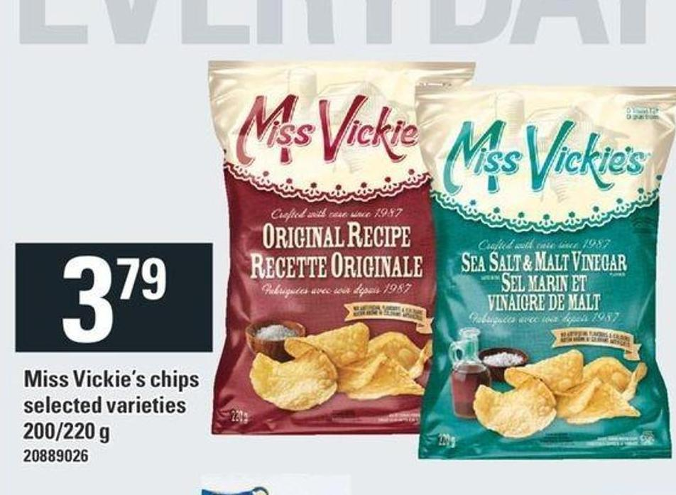 Miss Vickie's Chips - 200/220 g