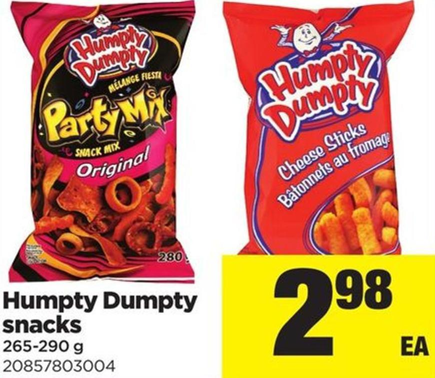 Humpty Dumpty Snacks 265-290 g