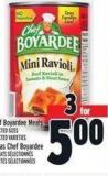 Chef Boyardee Meals