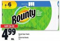 Bounty Paper Towels 4 Un.