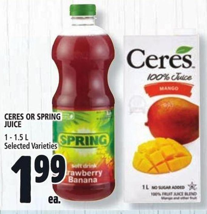 Ceres Or Spring Juice