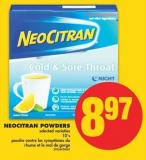 Neocitran Powders - 10's