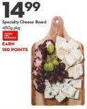 Specialty Cheese Board 480g