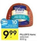 Piller's Hams Selected 800 g - 10 Air Miles Bonus Miles