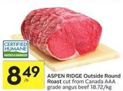 Aspen Ridge Outside Round Roast