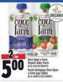 Once Upon A Farm Organic Baby Purée