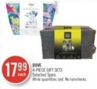Dove 4-piece Gift Sets