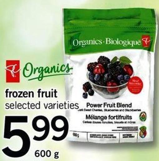 Frozen Fruit - 600 G