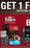 Folgers K-cup Coffee Capsules