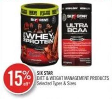 Six Star Diet & Weight Management Products