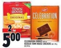 Celebration Cookies 240 G Or Keebler Town House Crackers 260 - 391 G Or 2.99 Ea.