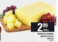 Balderson Cheddar Aged For 2 Years