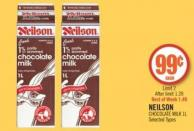 Neilson Chocolate Milk 1 L
