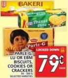 Parle-g - Lu Or Ebm Biscuits - Cookies Or Crackers