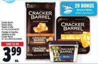 Cracker Barrel Cheese Slices - Snacks Or Feta