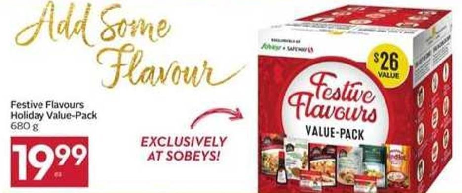 Festive Flavours Holiday Value-pack