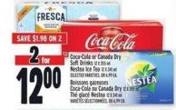 Coca-cola Or Canada Dry Soft Drinks | Boissons Gazeuses Coca-cola Ou Canada Dry
