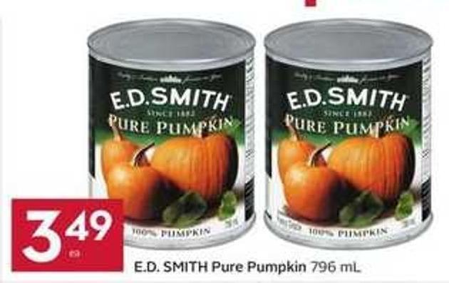 E.d. Smith Pure Pumpkin