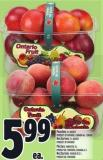 Peaches 3 L Basket Or Nectarines 2 L Basket