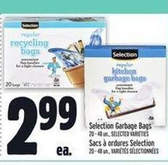 Selection Garbage Bags