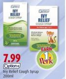 Ivy Relief Cough Syrup 200ml