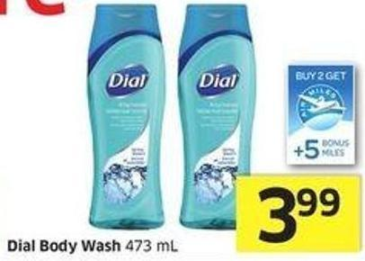 Dial Body Wash 473 mL -5 Air Miles Bonus Miles