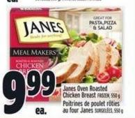 Janes Oven Roasted Chicken Breast