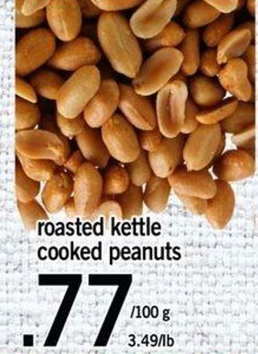 Roasted Kettle Cooked Peanuts