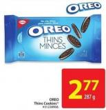 Oreo Thins Cookies 287 g