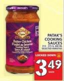 Patak's Cooking Sauces