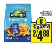 Cavendish French Fries