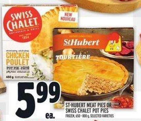 St-hubert Meat Pies or Swiss Chalet Pot Pies
