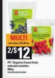 PC Organics Frozen Fruits - 600 g
