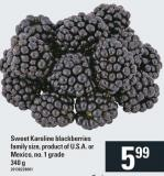 Sweet Karoline Blackberries - 340 g