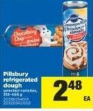 Pillsbury Refrigerated Dough - 318-468 g