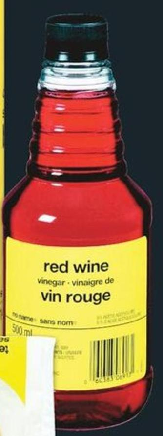 No Name Red Wine Or Apple Cider Vinegar 500 Ml
