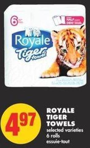 Royale Tiger Towels