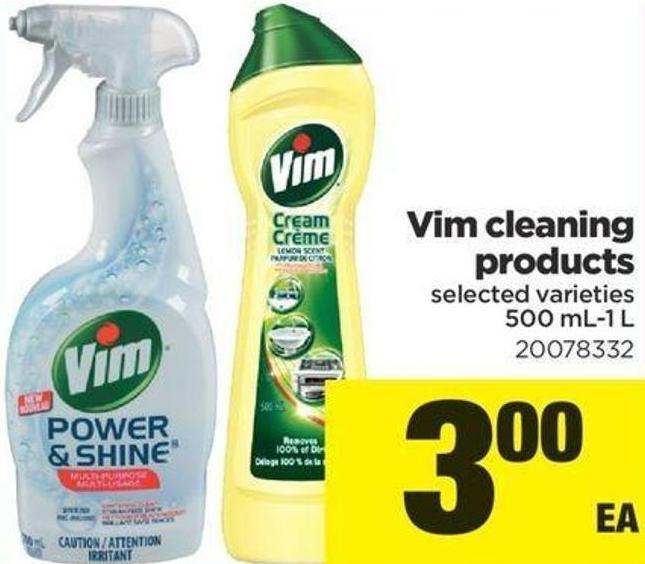 Vim Cleaning Products - 500 Ml-1 L