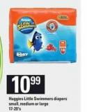 Huggies Little Swimmers Diapers.17-20's