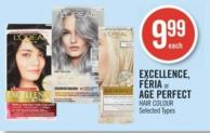 L'or'al Excellence - F'ria or Age Perfect Hair Colour
